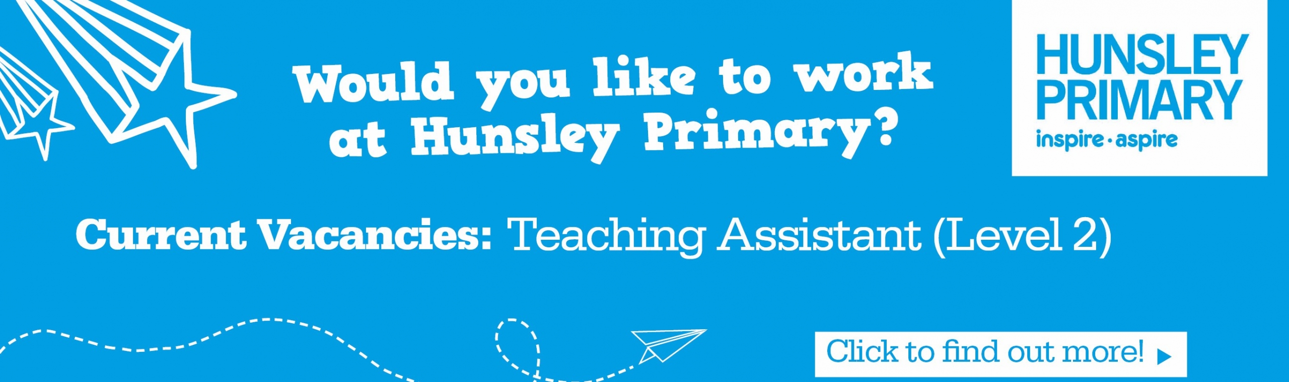 Hunsley_Primary_Banner – Current Vacancies – TA