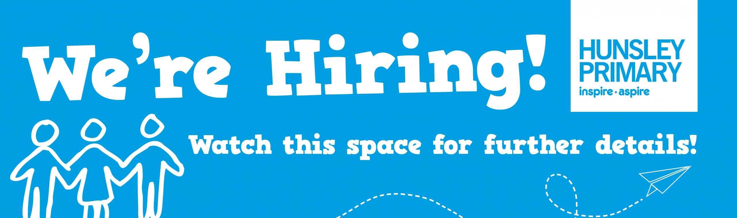 Hunsley_Primary_Banner – We're Hiring