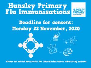 Flu consent deadline